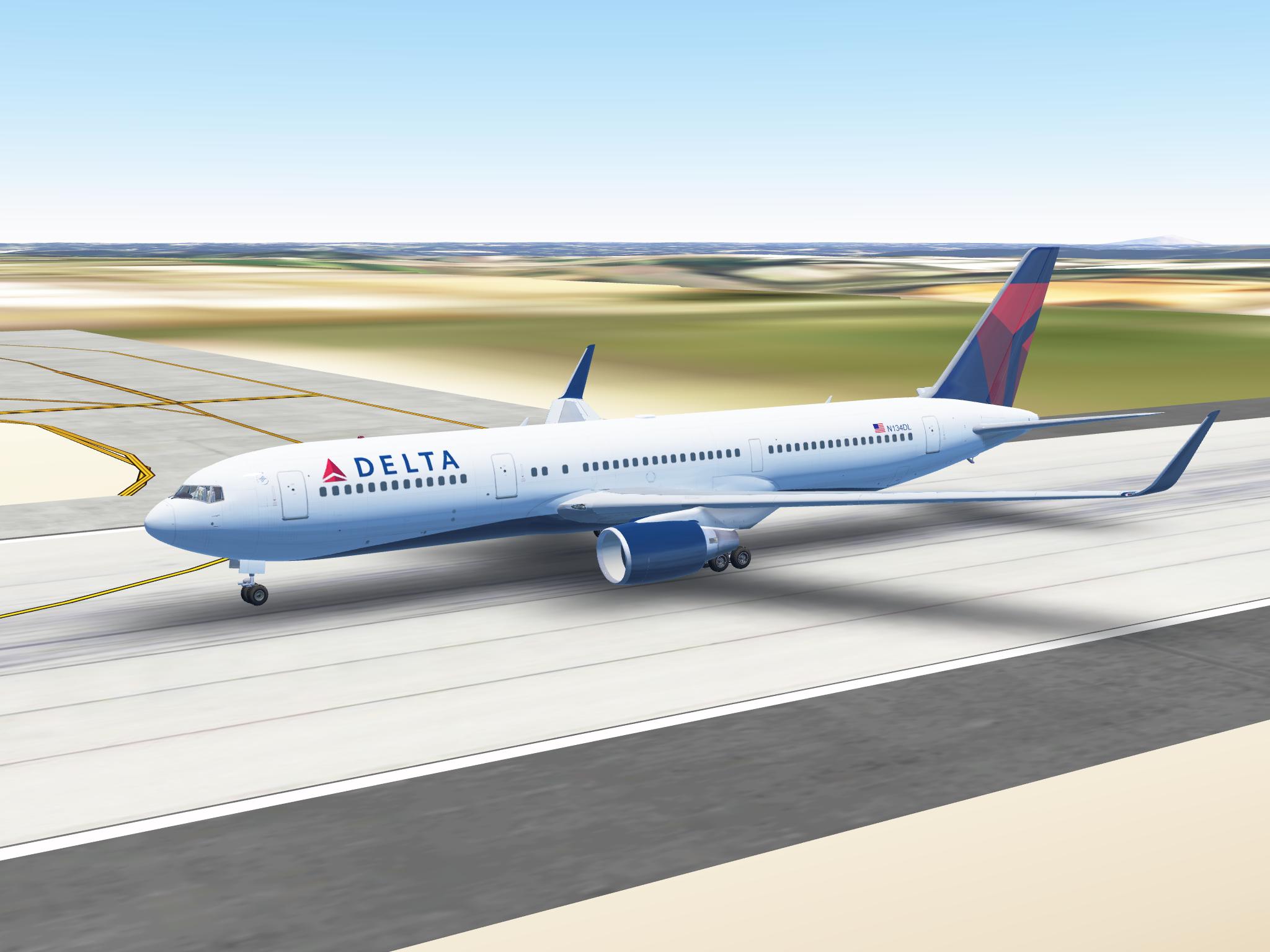 Infinte Flight Delta VA